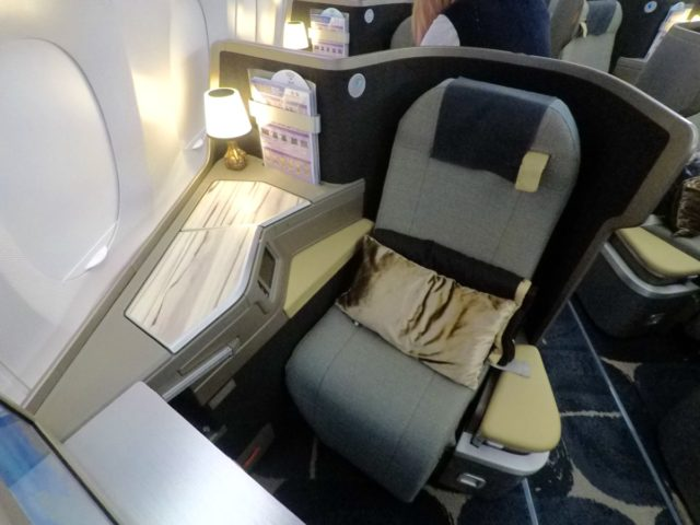 china airlines, a350, business class