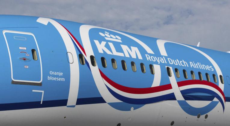 KLM 787-10 Dreamliner