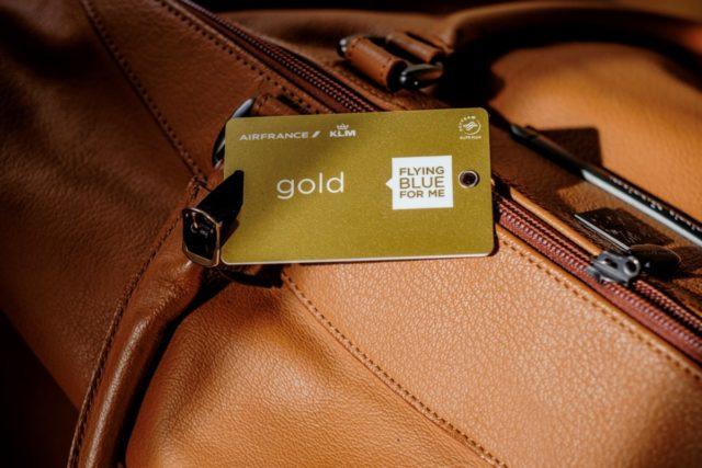 Flying Blue Gold is een van de deelnemersniveaus (Bron: Flying Blue)
