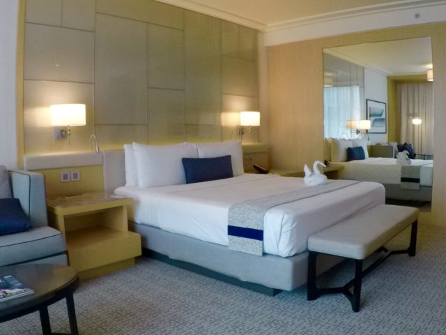 marina bay sands, deluxe room, Singapore