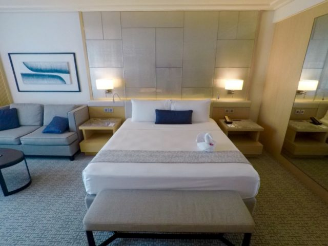 marina bay sands, deluxe room