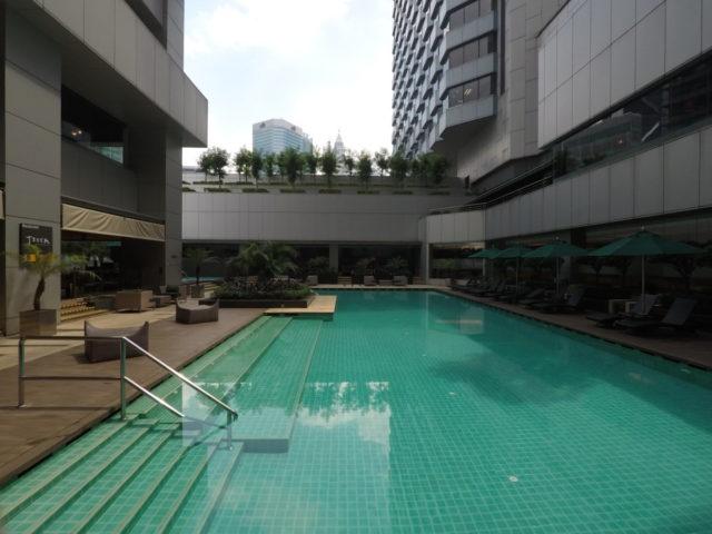 buitenzwembad, doubletree by hilton, Kuala Lumpur