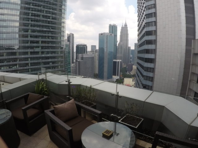 terras, executive lounge, doubletree by hilton, Kuala Lumpur