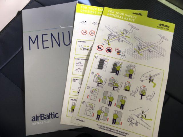 Review: Business Class airBaltic Bombardier Dash 8 Q400 Riga-Vilnius
