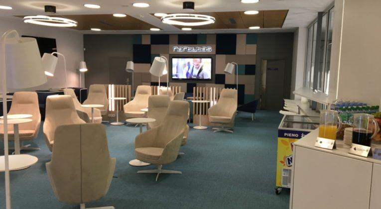 Review: Narbutas Verslo Klubas – Business Lounge Vilnius Airport