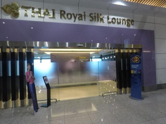 royal silk lounge, Kuala Lumpur, thai airways