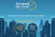 Win AccorHotels Rewards-Punten met 'Around the Clock'.