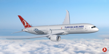 Boeing 787-900 Dreamliner van Turkish Airlines (Bron: Turkish Airlines)