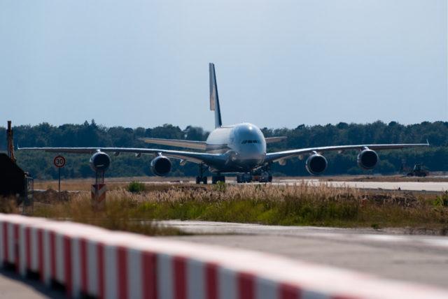 Deel Airbus A380 Lufthansa verplaatst vanaf 2020