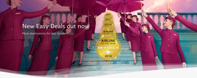 Qatar Airways viert Skytrax Award met intressante Easy Deals