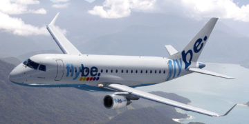 Flybe Embraer E175 (Bron: Flybe)