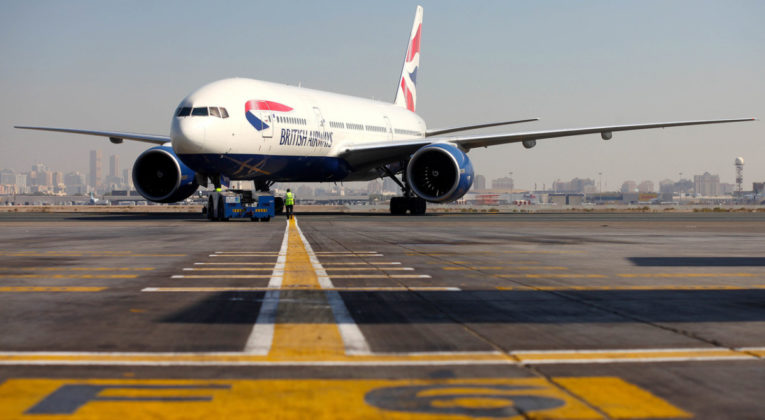 Boeing 777-200 van British Airways