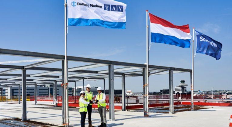 Hoogste punt nieuwe A Pier Schiphol bereikt