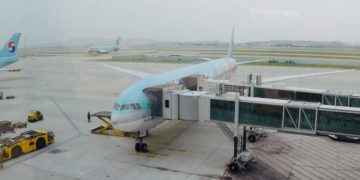 korean air, business class, Boeing 777, review