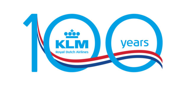 KLM introduceert KLM100 website & shop