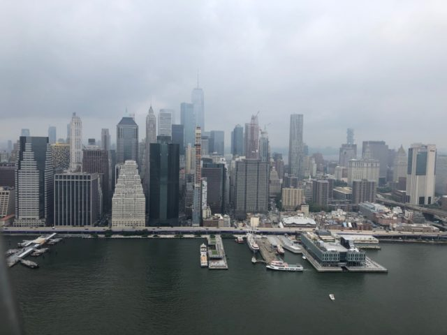 Lower Manhattan view