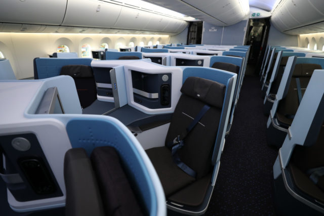 KLM Boeing 787-10 Dreamliner World Business Class