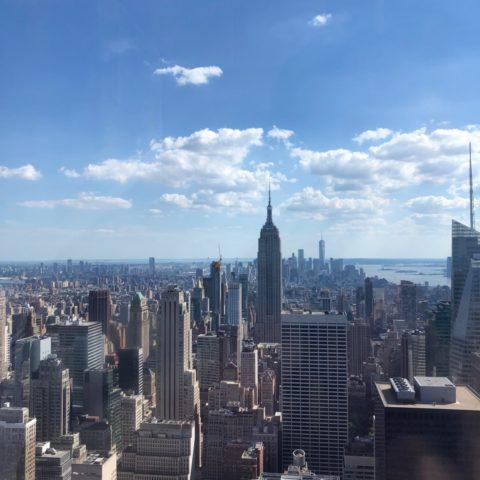 Uitzicht vanaf Top of the Rock