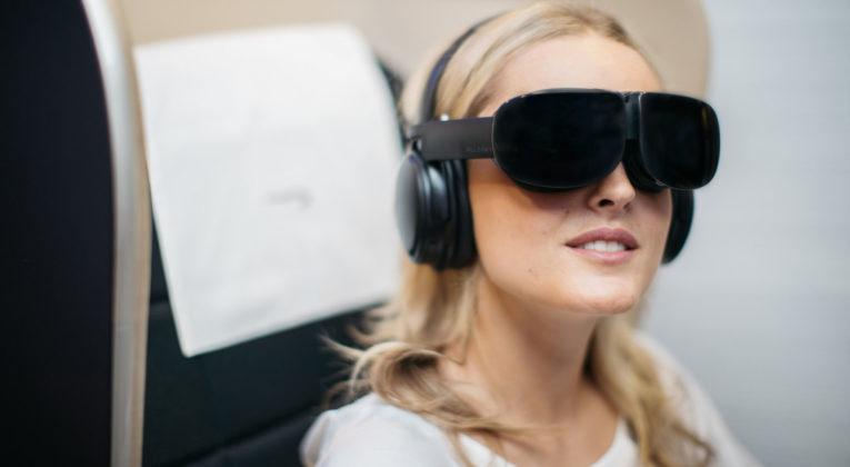 BA introduceert een nieuwe IFE headset met VR (Bron: British Airways)