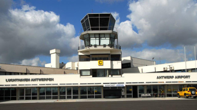 Het vliegveld van Antwerpen (Bron: Antwerpen Airport)