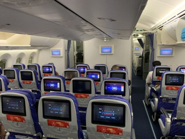 Review: China Southern Economy Class – Boeing 787-8 Dreamliner
