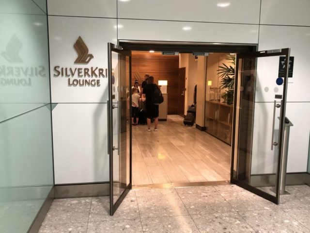 singapore airlines, silverkris, lounge, lhr