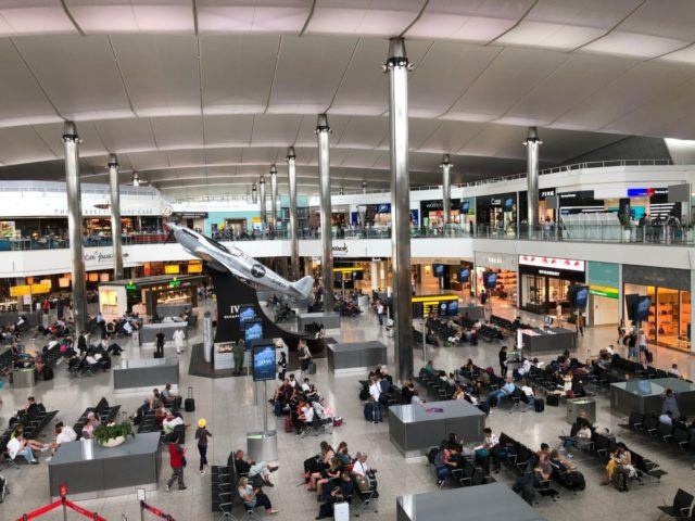 londen-heatrow, terminal 2