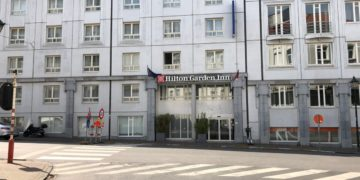 hilton, garden inn, Brussels city, review