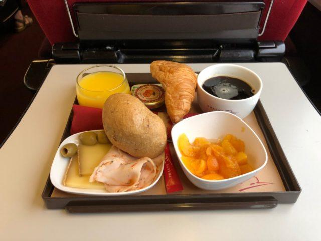 ontbijt, thalys, comfort 1