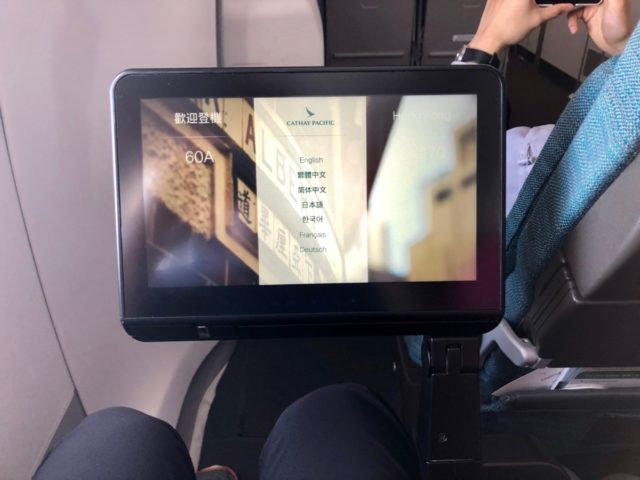cathay pacific, in-flight entertainment