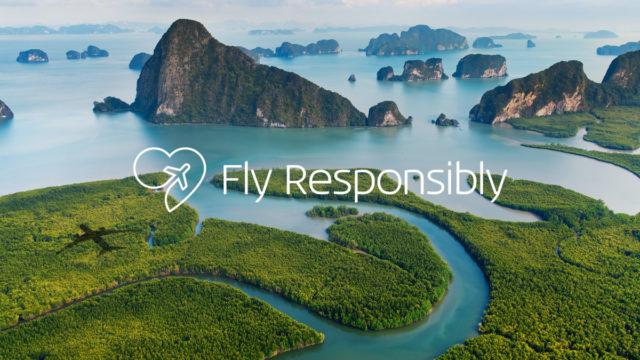 KLM's duurzaamheidsinitiatief 'Fly Responsibly' zal niet meer voldoende zijn (Bron: KLM)