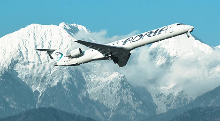 Adria Airways staakt voorlopig vluchten