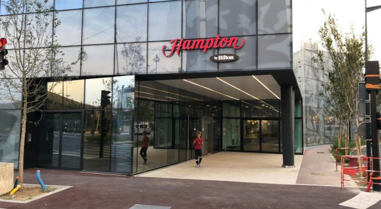 Hampton by hilton, Paris Clichy, review