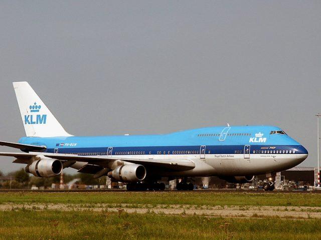 Boeing 747-200 (PH-BUN) van KLM (Bron: KLM / WikiMedia Commons)