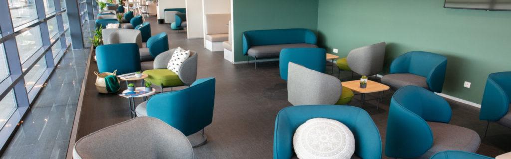 Brussels South nieuwe lounge