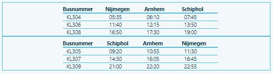 KLM Bus Arnhem
