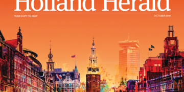 KLM lanceert 100 jaar special Holland Herald