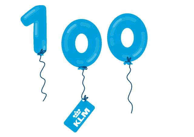 Boek 'Een eeuw KLM' met korting verkrijgbaar