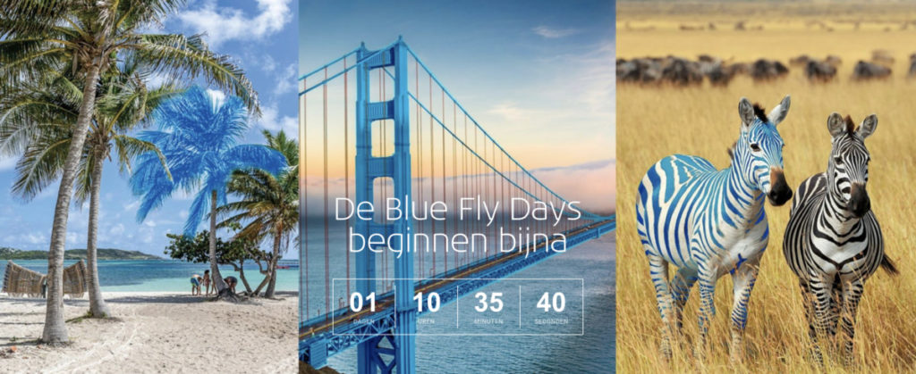 KLM Blue Fly Days (Bron: KLM)