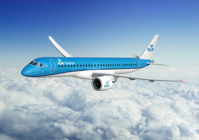 KLM bestelt 21 Embraer 195-E2 Toestellen