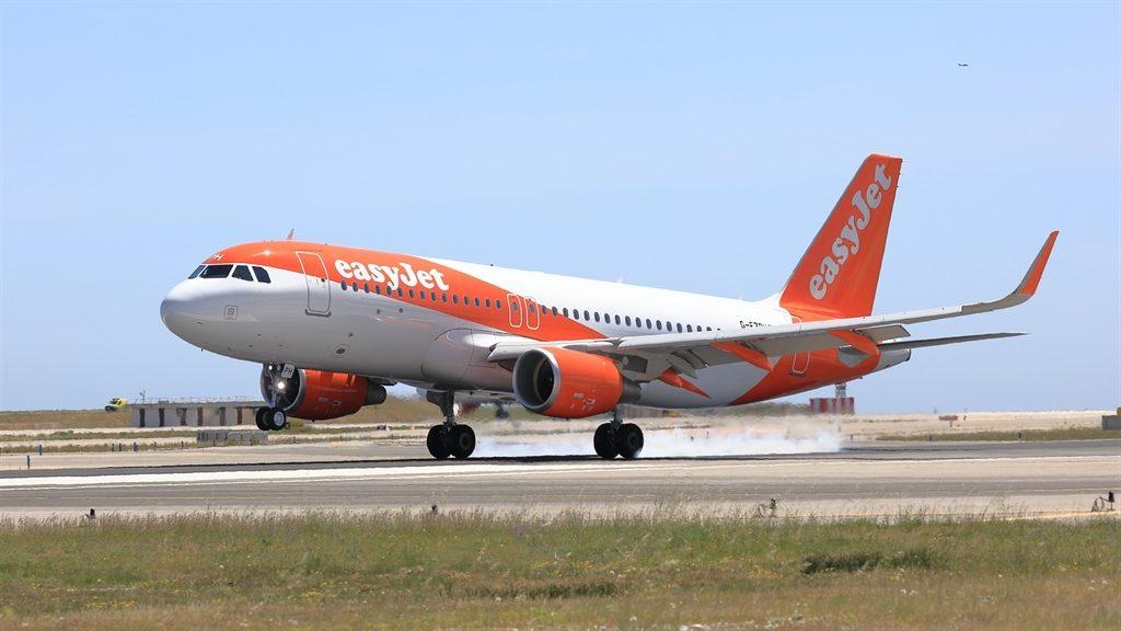 Airbus A320 van EasyJet (Bron: EasyJet)
