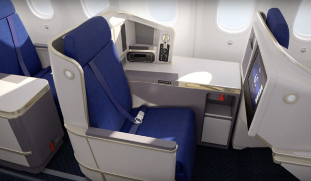 China Southern Boing 787-9 Dreamliner Business Class