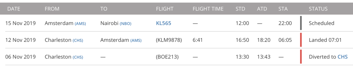 Floghtradar24: aankomst PH-BKD en planning eerste commerciële vlucht