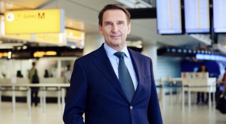 schiphol, commercieel directeur, André van den Berg