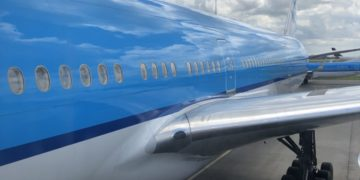 KLM toestel