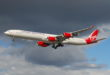 Airbus A340 van Virgin Atlantic