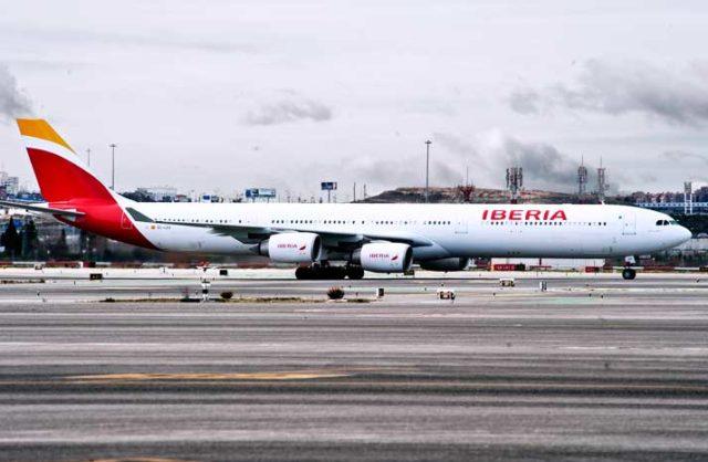 Airbus A340 van Iberia (Bron: Iberia)