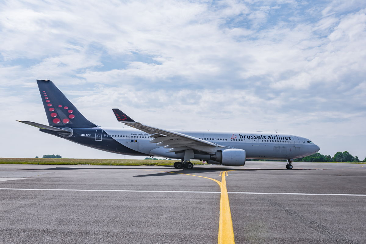Brussels Airlines Airbus A330 (Bron: Brussels Airlines)
