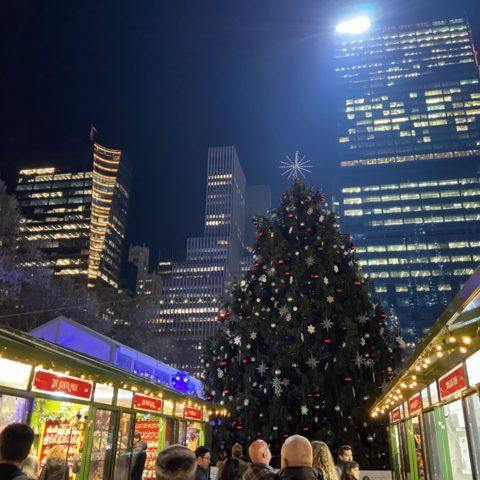 Kerstmarkt Bryant Park