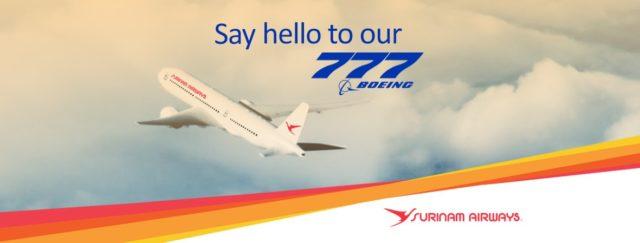 Surinam Airways (SLM) kan voorlopig weer long-haul vliegen